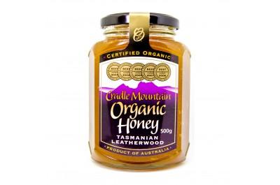 Cradle Mountain Organic Tasmania Leatherwood Honey (500g)