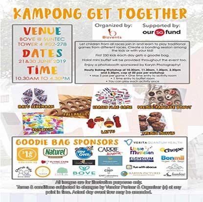 Kampong get together 21 & 30 June