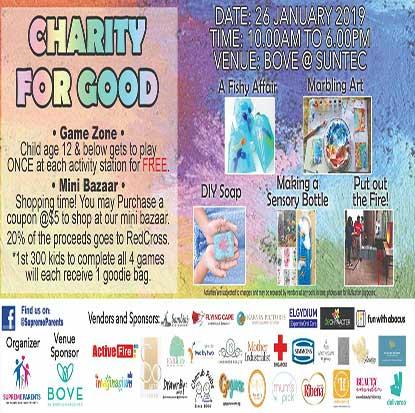 Charity for good 26 jan 19 @ Bove