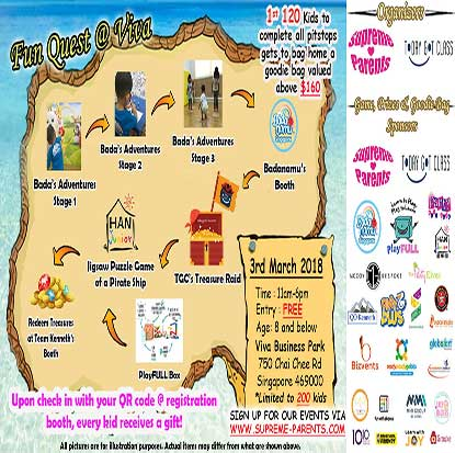 FUN QUEST @ VIVA ON 3RD MARCH
